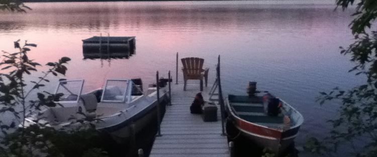Dockside with Joe Outboard